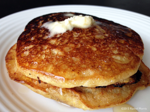 Hoe Cakes (aka CornmealPancakes)