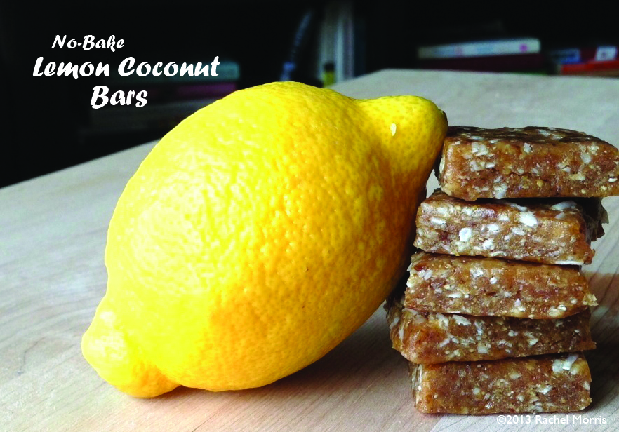 No-Bake Lemon Coconut Bars