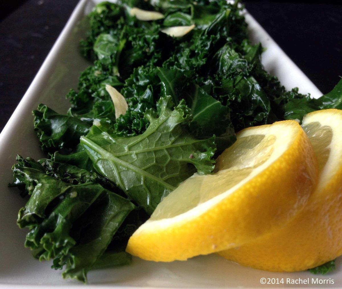 Lemon Garlic Kale
