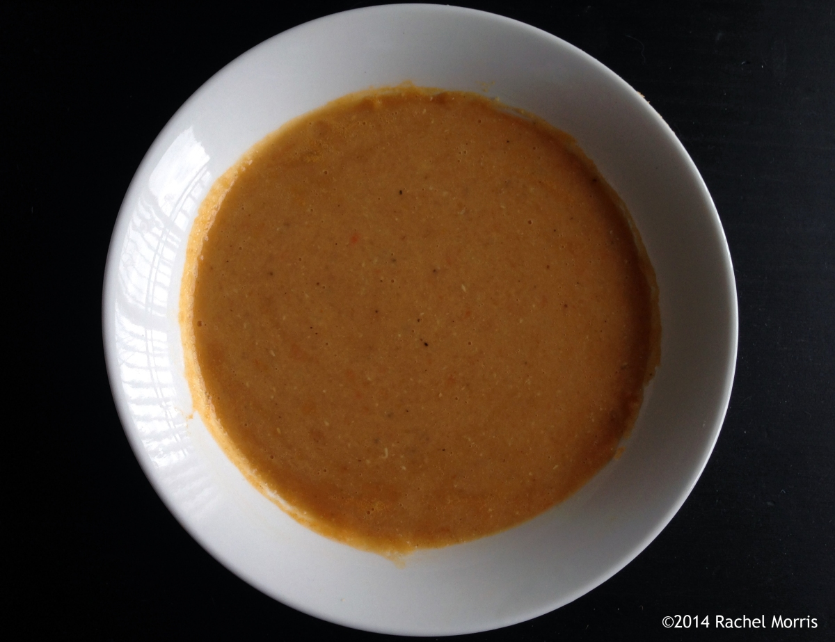 Middle Eastern Red Lentil Soup